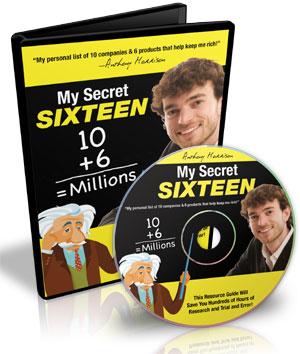 MY SECRET SIXTEEN